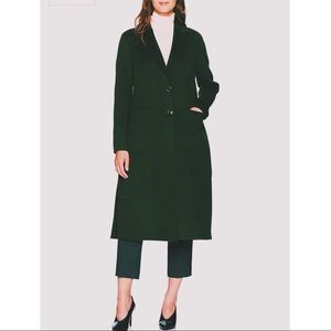 BADGLEY MISCHKA | olive retro wool coat